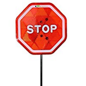 Stop/Slow Traffic Paddles