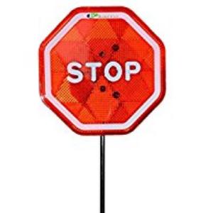 Stop/Slow Traffic Paddles